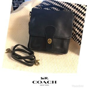 VINTAGE COACH SADDLE/MESSENGER BAG